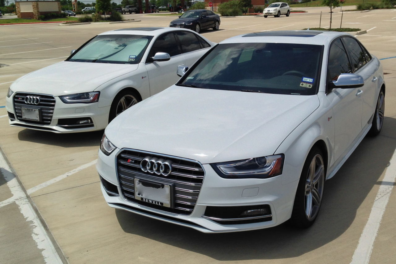 Glacier white vs ibis white s4 audiworld forums for Sun motor cars audi