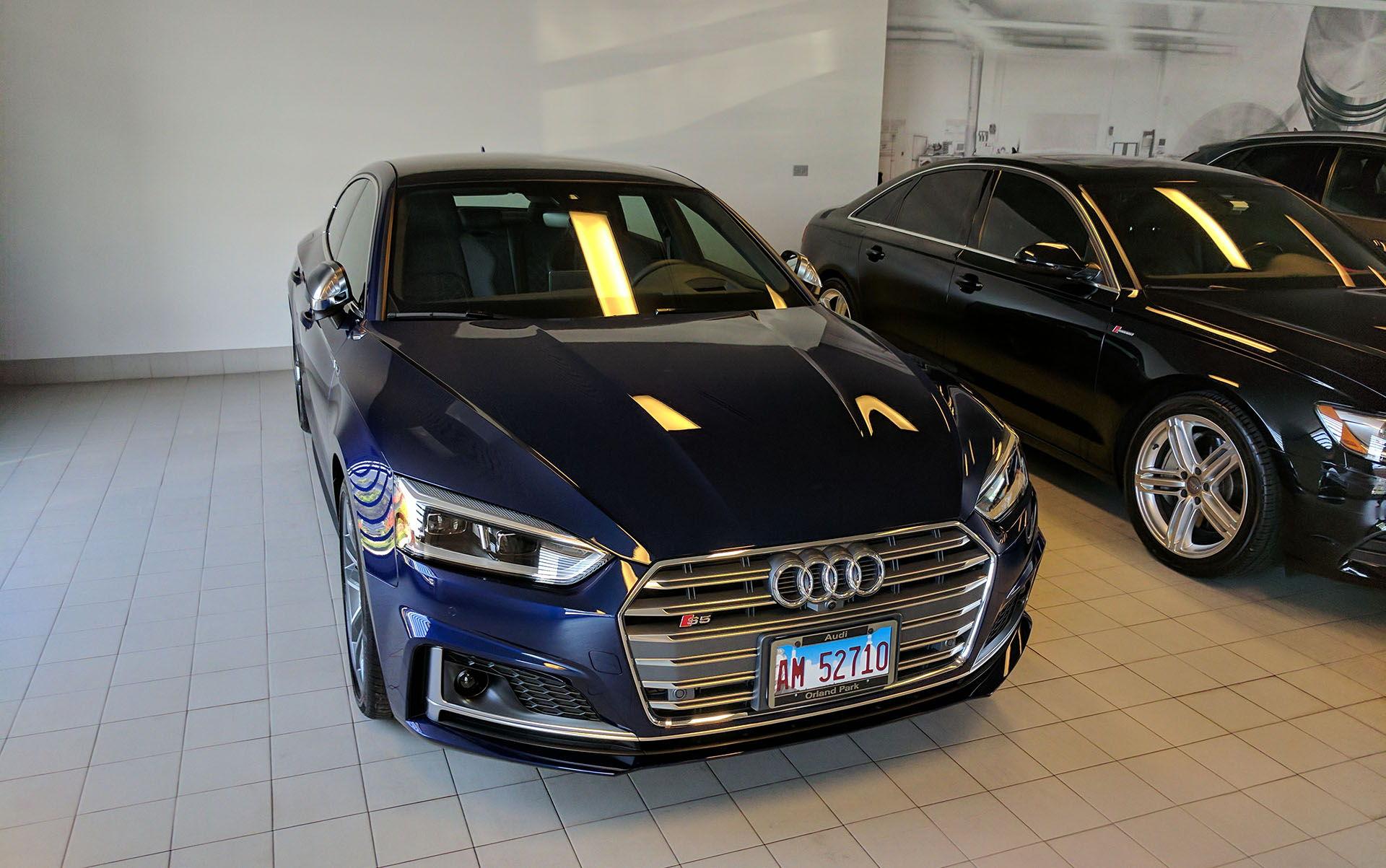 My Navarra Blue B9 S5 Sportback - AudiWorld Forums