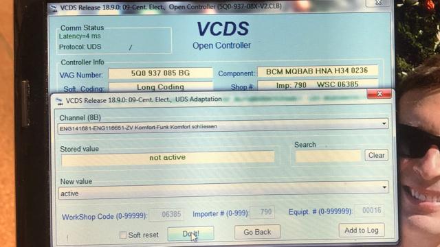 Setting tweaks with VAG-COM - AudiWorld Forums