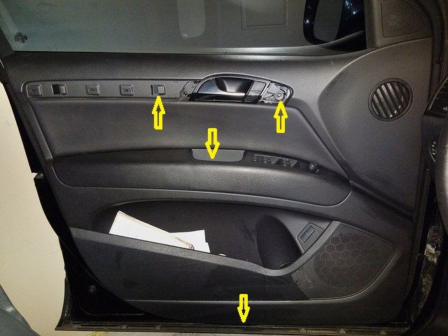 How To Replace The Front Door Speakers Audiworld Forums