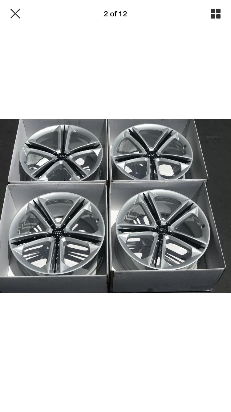 Painting plastic trim on wheels - AudiWorld Forums