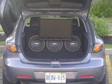 Mazda 3 build