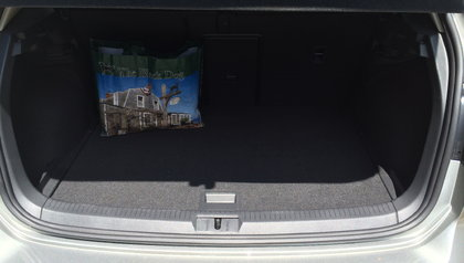 2015 Volkswagen Golf TDI Trunk