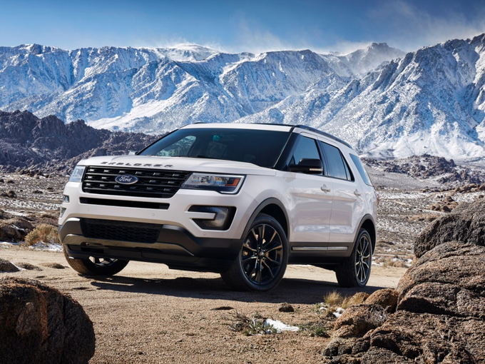 2017 ford explorer deals prices incentives leases overview. Cars Review. Best American Auto & Cars Review