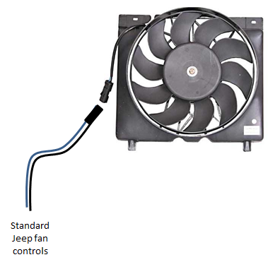 Notice That There Is A Connector Plug Near The E Fan We Ll Connect Our Switch On Control Side Of Not Why
