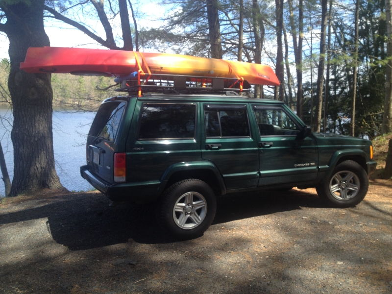 Anyone Carry Kayaks On Their Xj S Jeep Cherokee Forum