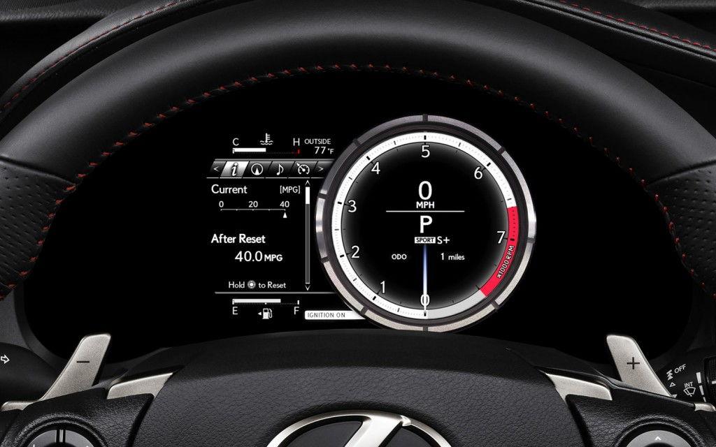 Lexus is350 f sport mpg