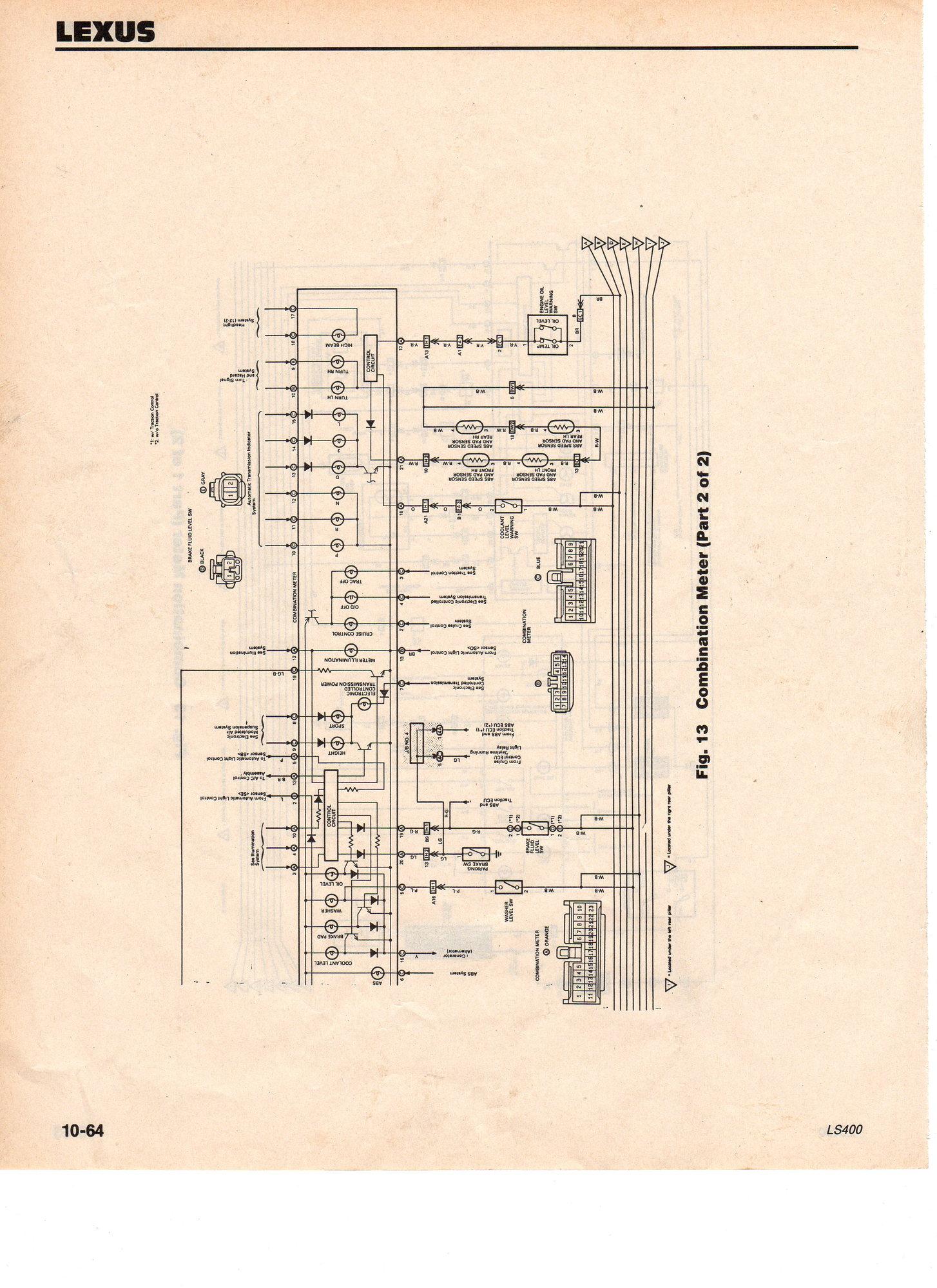 1994 Ls400 Wiring Diagrams   Finally  1uzfe Swap Info