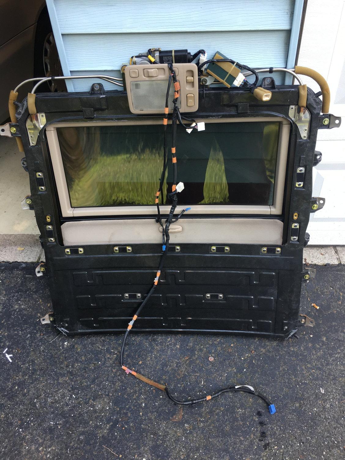 nj fs gas tank sunroof door wiring harness clublexus. Black Bedroom Furniture Sets. Home Design Ideas