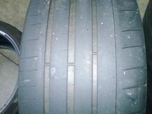 Rear tire OEM size