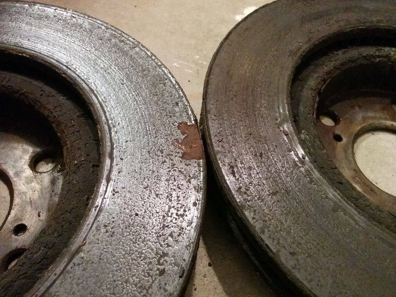 front pads and rotors requiring replacement after only 2 years  23 000 miles  - clublexus