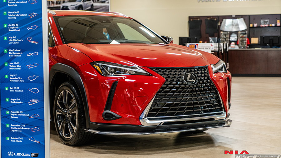 Lexus UX With This Sweet Lip Kit At Lexus Of West Kendall