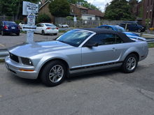 My 2006 Mustang Convertible