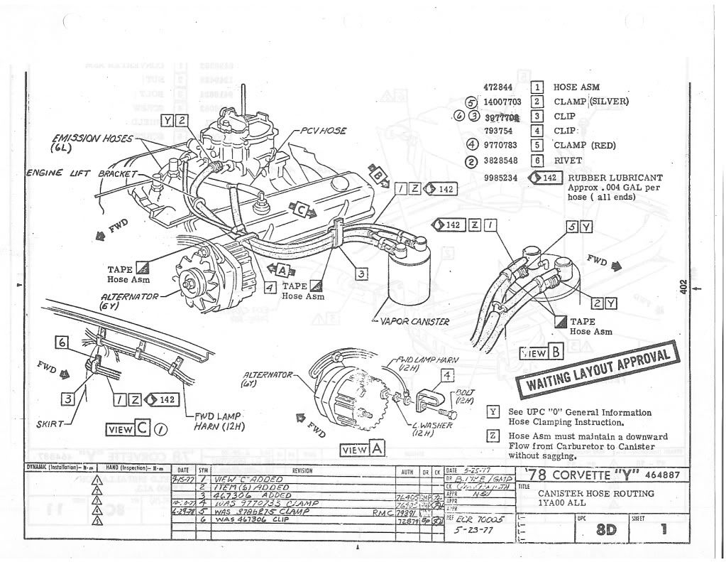 vette vapor canister diagram help corvetteforum  engine