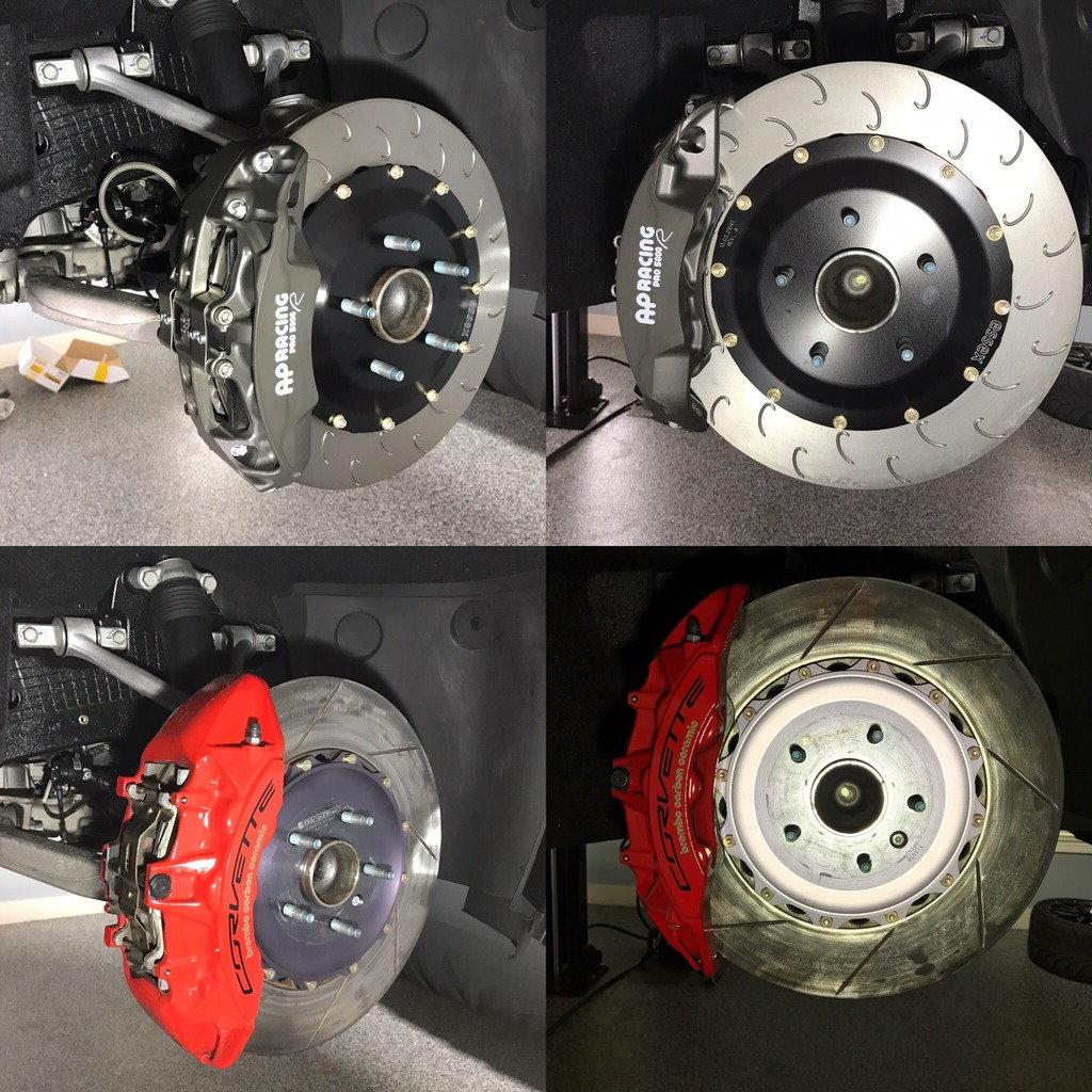 FS (For Sale) C7 Z07 Girodisc Rotors & Raybestos ST43 Pads