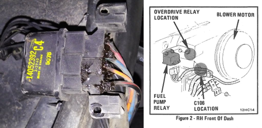1986 Corvette Fuel Pump Wiring Diagram - Electrical Work Wiring ...