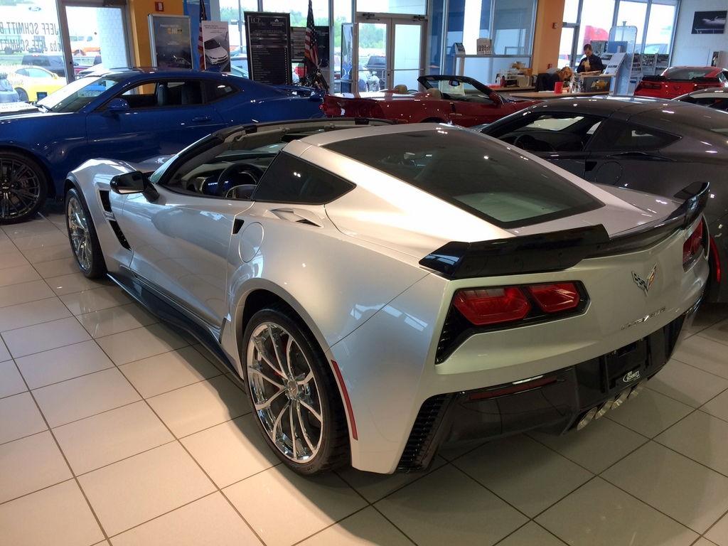 Jeff Schmitt Auto Group >> FS (For Sale) 2017 Corvette Grand Sport - 3LT, Blade Silver Metallic, Auto, - CorvetteForum ...