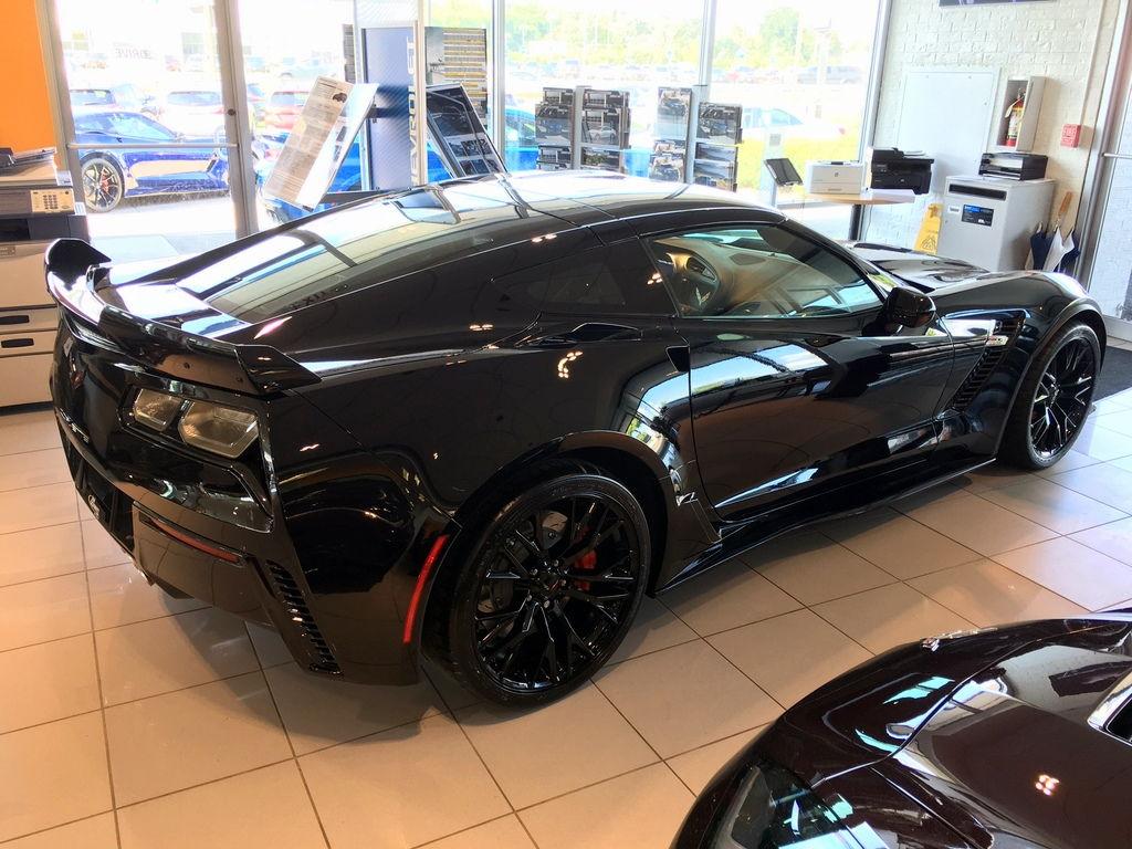 2019 Corvette Z06 Black Black M7 2lz Pdr W Nav