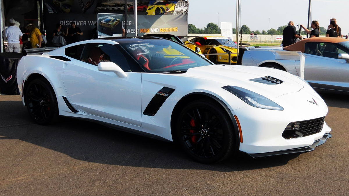 Arctic White Z06 Coupe Pics from the NCM Celebration