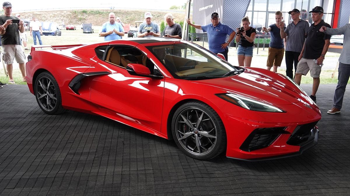 C8 Corvette Stingrays On Thursday At Corvettes At Carlisle