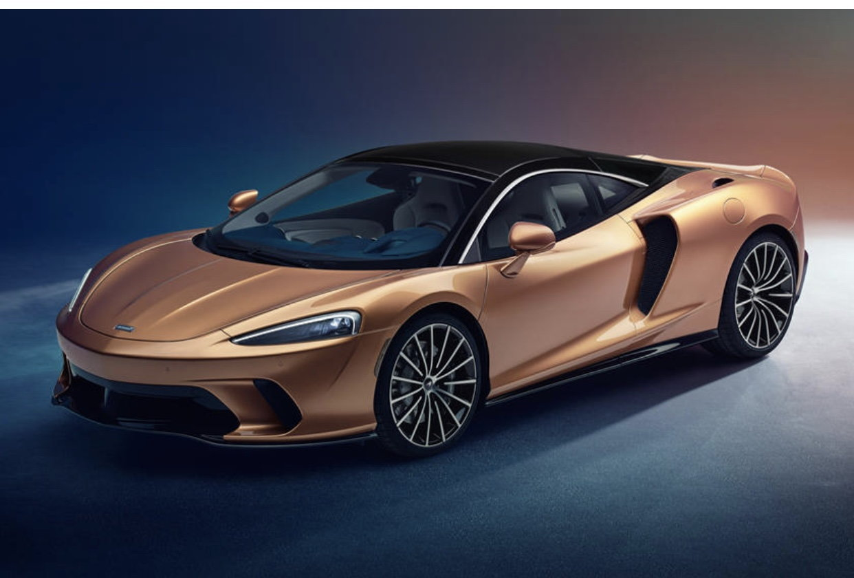 The New McLaren GT Looks Strangely Similar To The C8