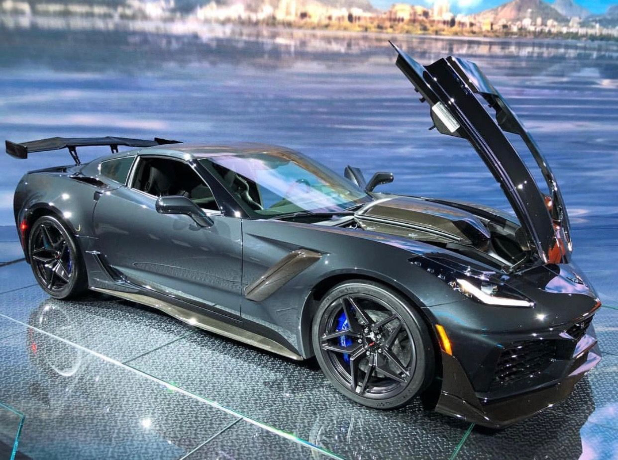 Jeff Schmitt Auto Group >> TPW 5/20: 2019 Corvette ZR1 Coupe - Shadow Gray, Black Int., M7, 3ZR, ZTK, and More ...