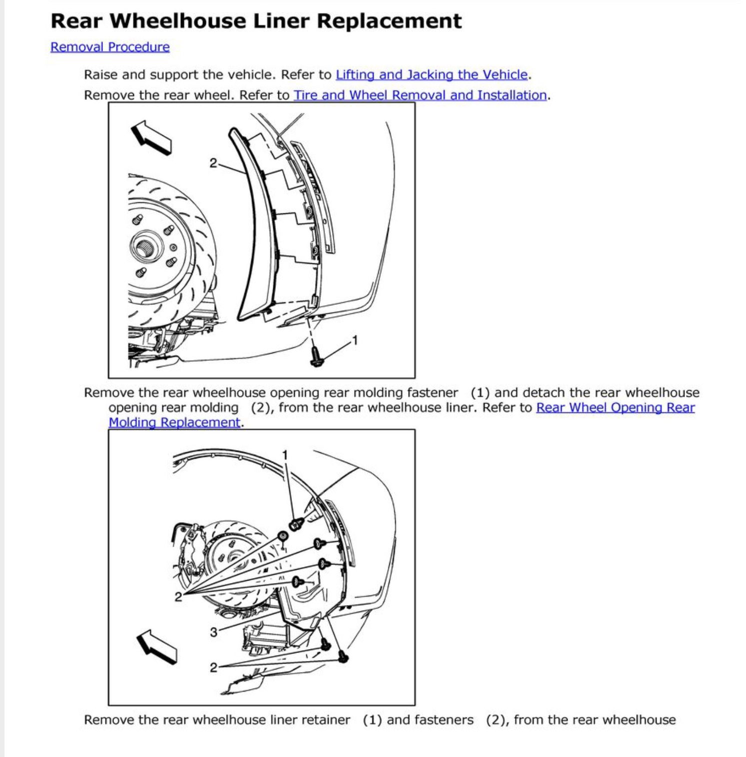 Question: Soundproofing Rear Wheel Wells? - CorvetteForum ...