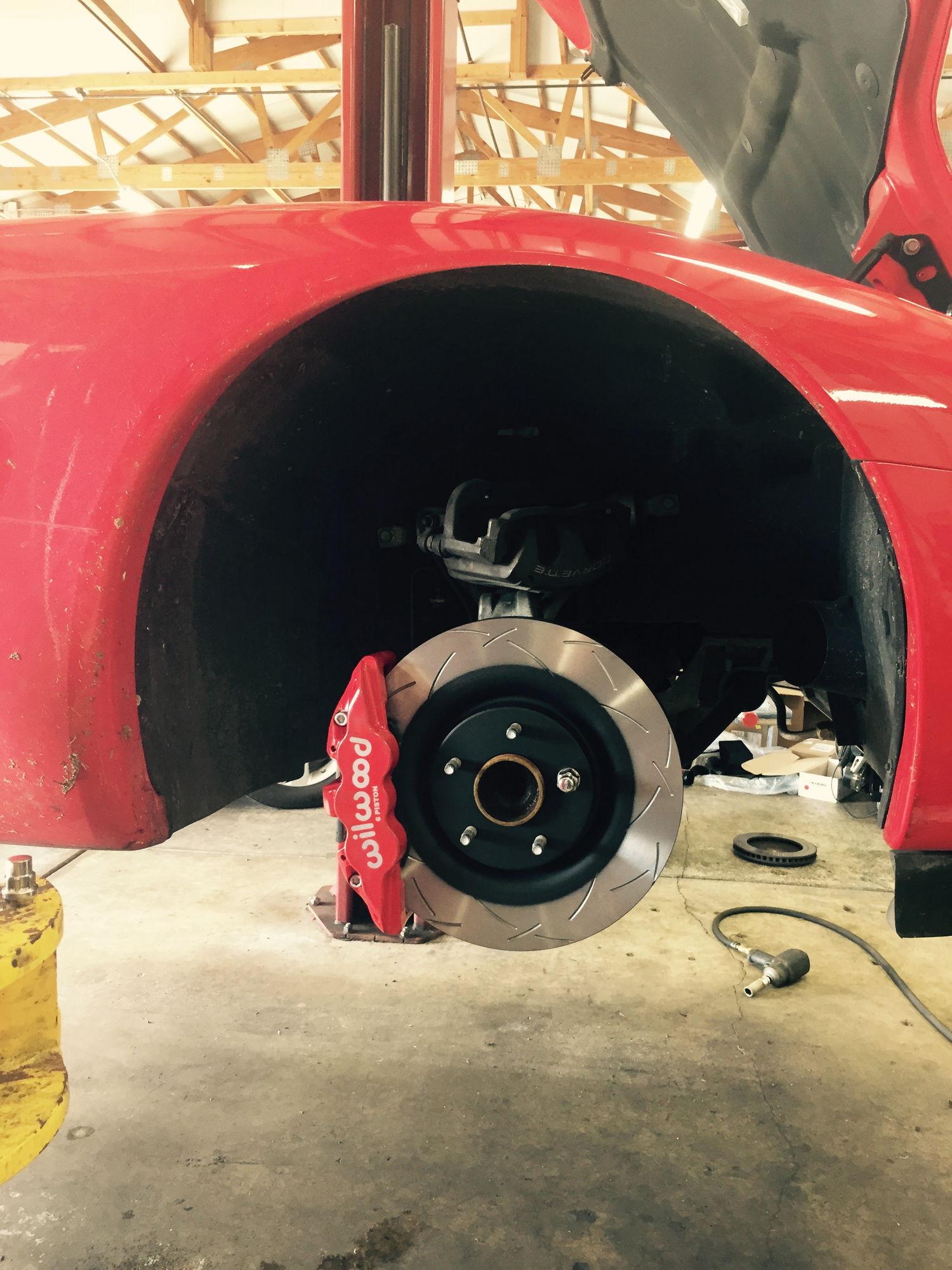 Hawk Brake Pads >> Wilwood Aero 6 brake kit - installed and review - CorvetteForum - Chevrolet Corvette Forum ...