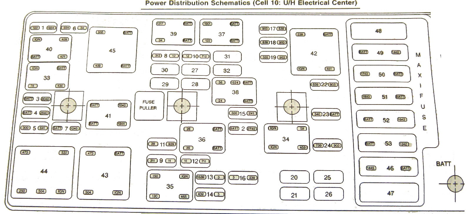 [SCHEMATICS_4HG]  C6 fuse box relay position - CorvetteForum - Chevrolet Corvette Forum  Discussion | 2008 Corvette Fuse Box Location |  | Corvette Forum
