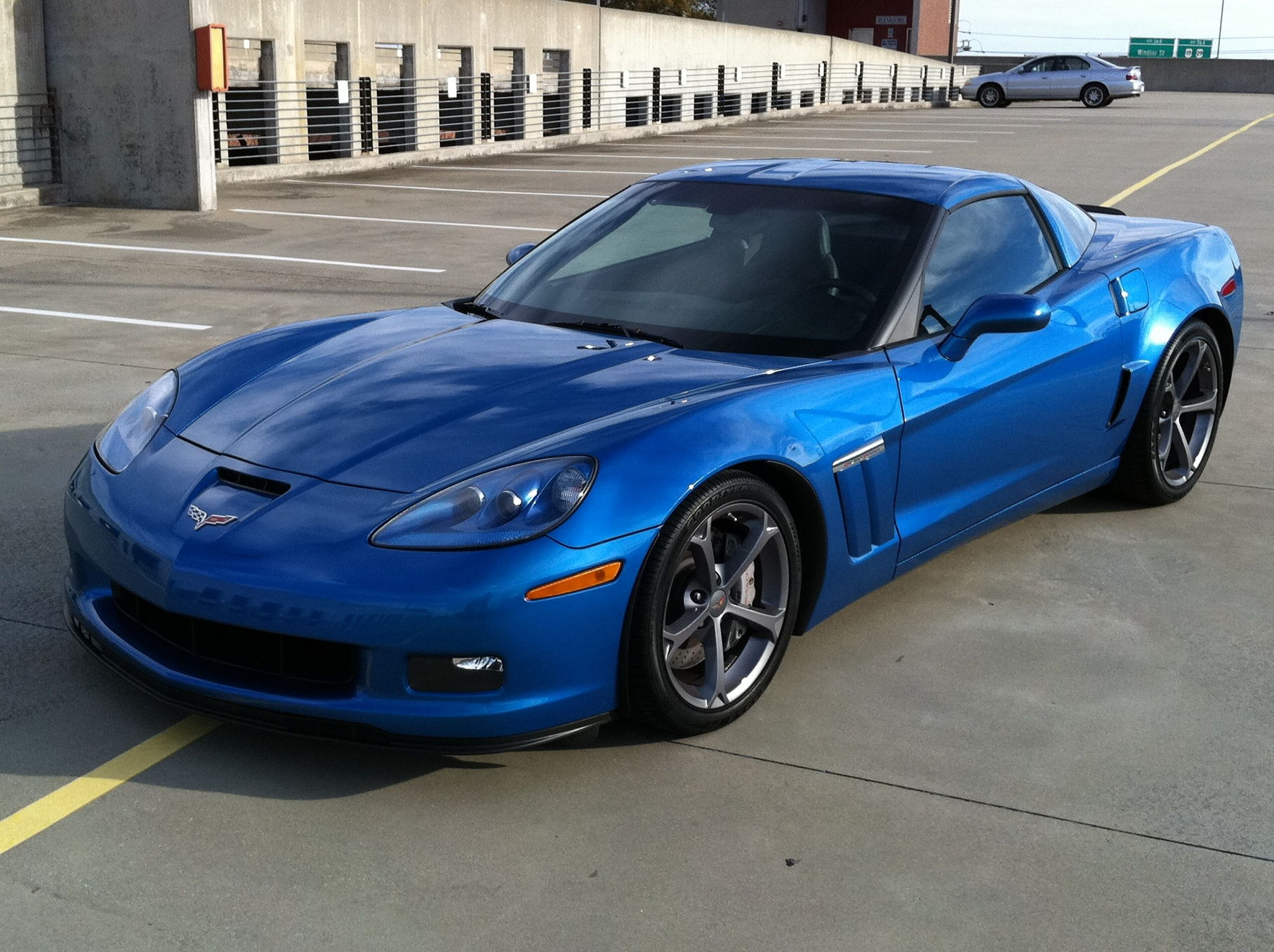 fs for sale 2010 corvette grand sport 6spd manual in jetstream blue lt1 with 31k miles. Black Bedroom Furniture Sets. Home Design Ideas