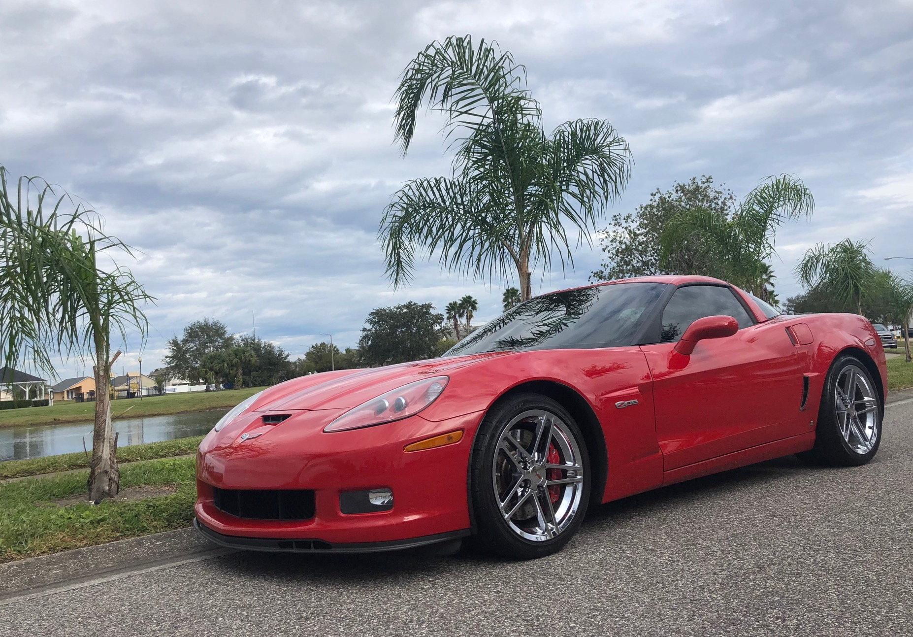 Corvette For Sale Near Me >> FS (For Sale) 2008 Victory Red Corvette C6 Z06 2LZ *STOCK ...