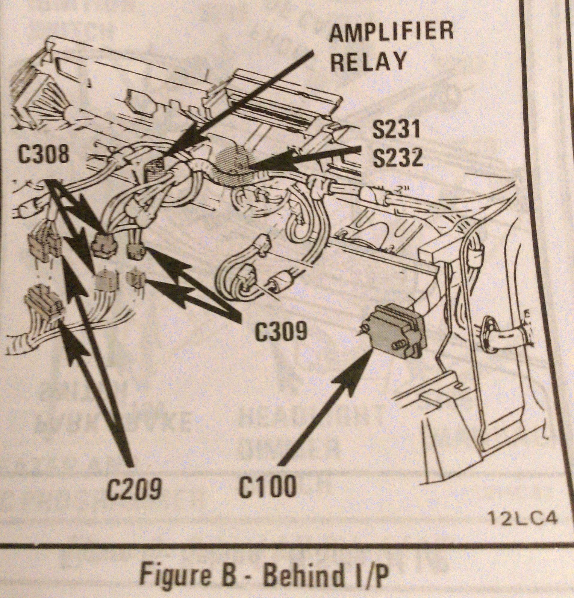 1986 Corvette Bose Radio Wiring Diagram Trusted Gm Amp Powers On But No Sound Corvetteforum Chevrolet