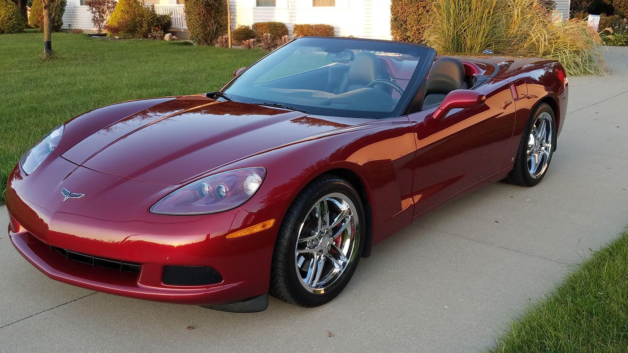 Fs For Sale 2006 Corvette Convertible Professionally