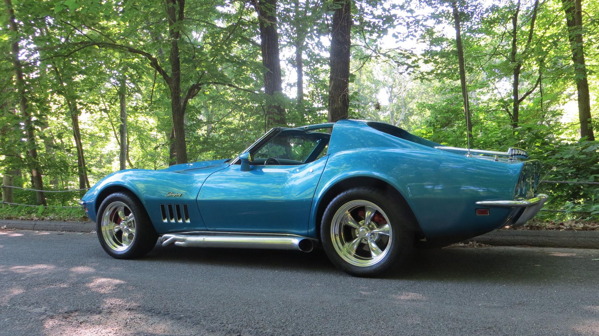1975 Stingray Corvette Side Pipe Questions Corvetteforum