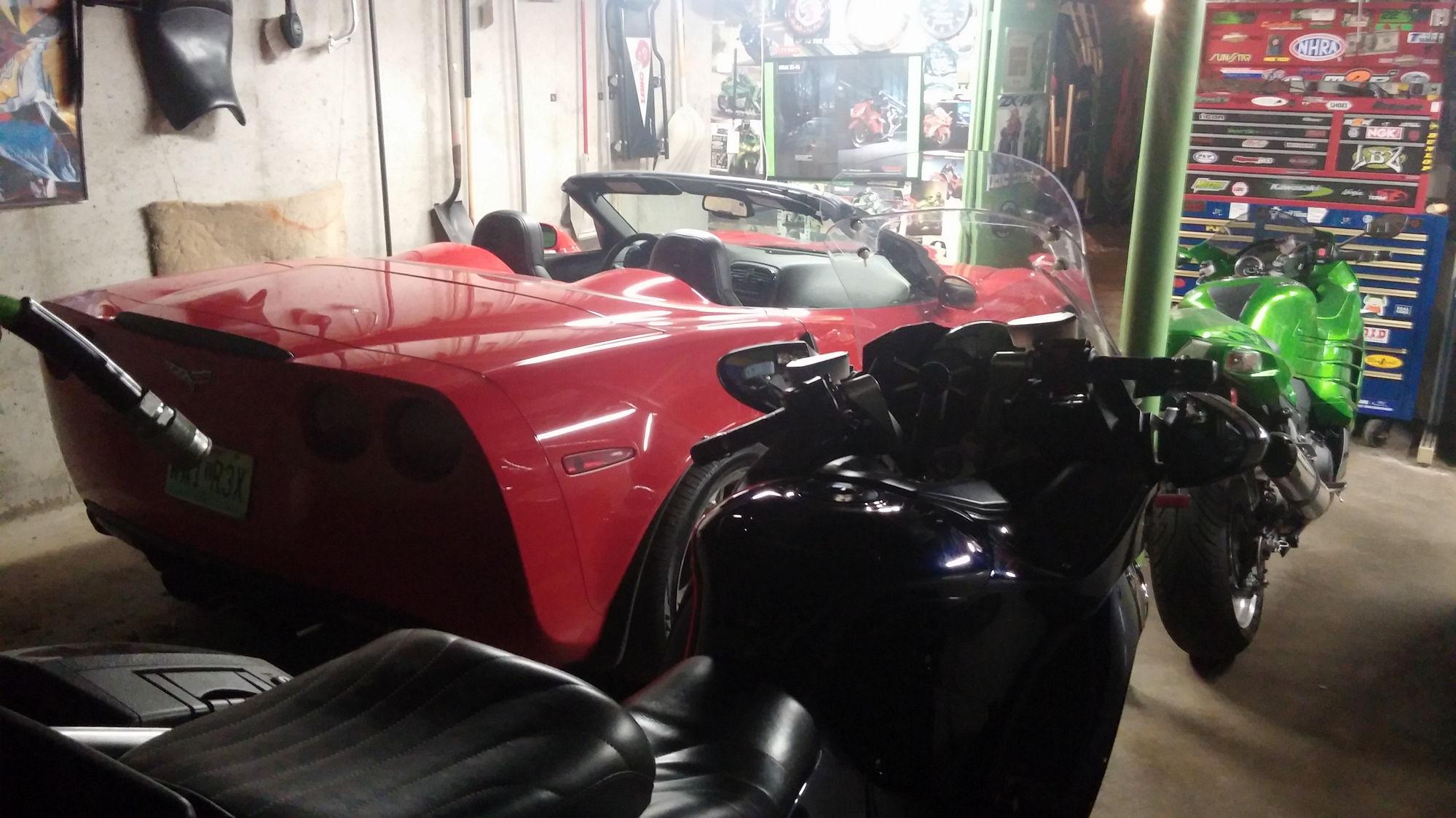 garage divider ideas - Garage divider ideas Wife dings my door CorvetteForum