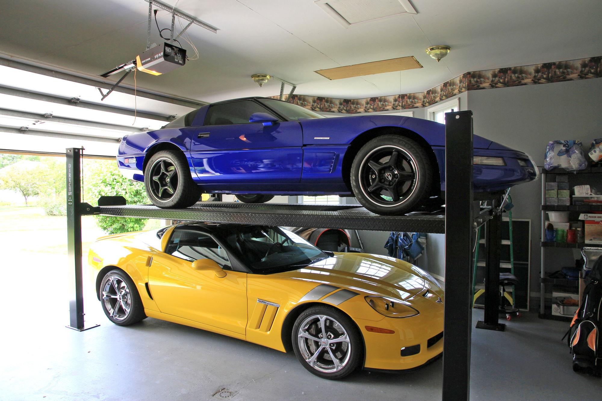 4 post lift for garage page 2 corvetteforum chevrolet