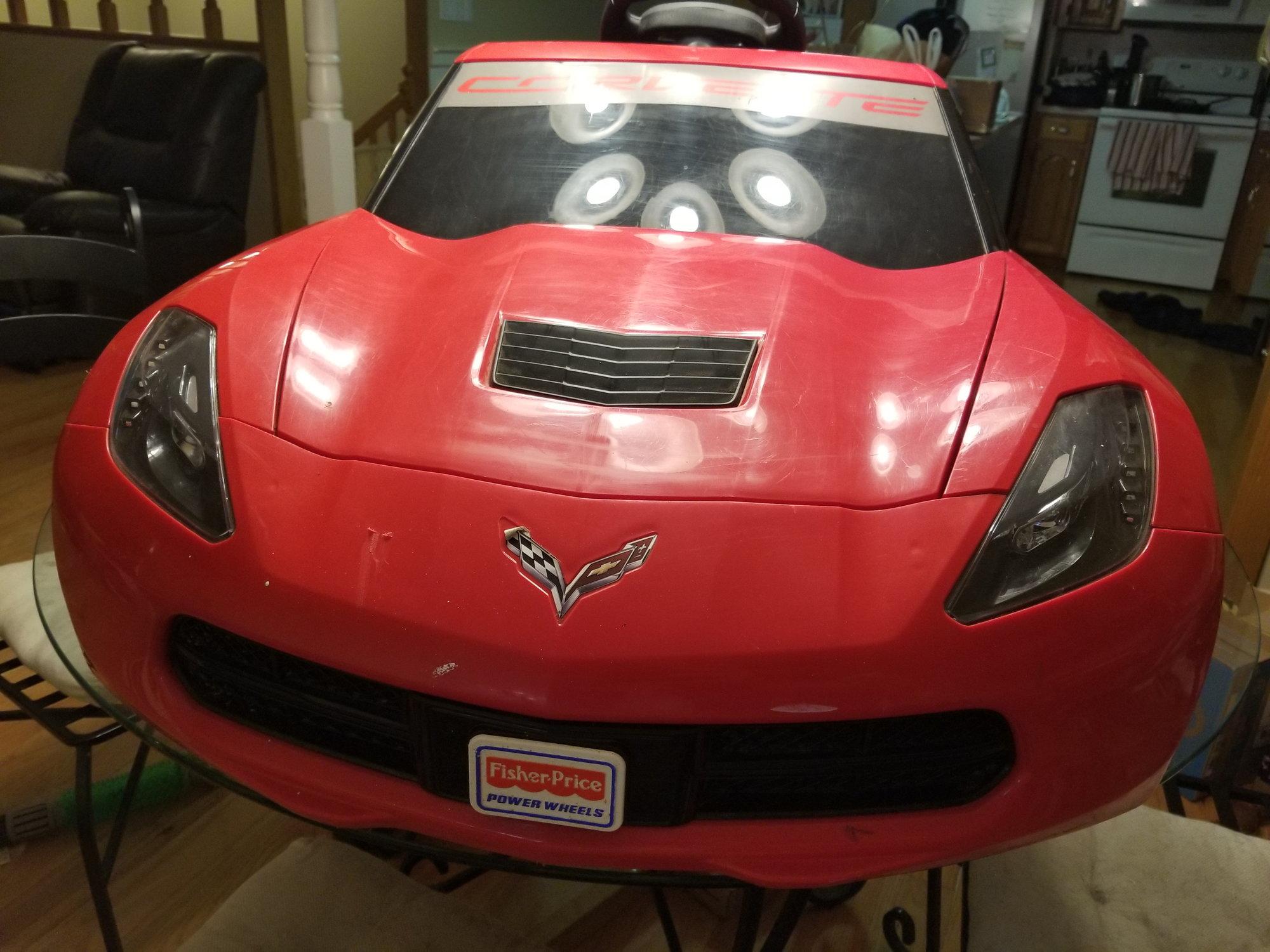 Stingray Torch Red To Velocity Yellow Transformation Corvetteforum
