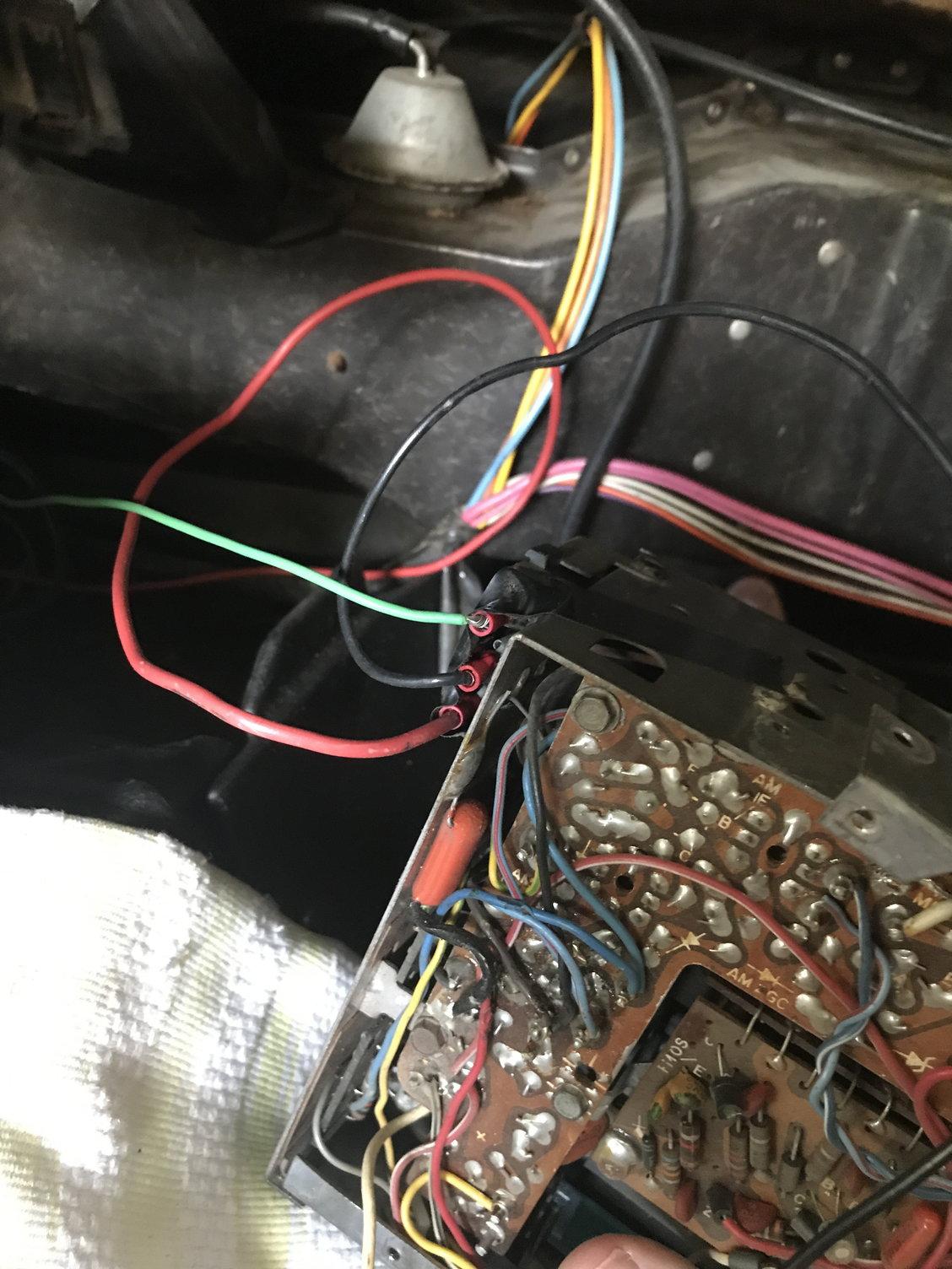 69 C3 Radio Wiring - Corvetteforum