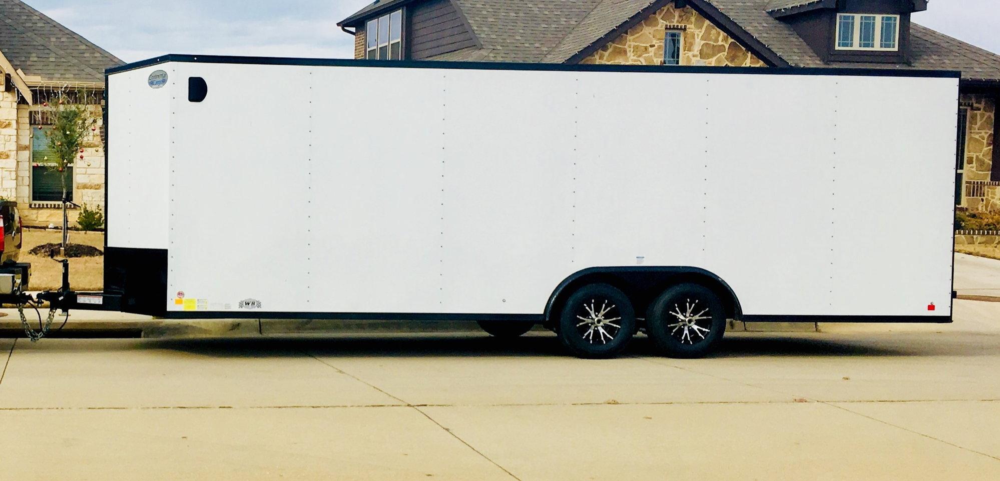 FS (For Sale) 24 ft Enclosed Trailer - CorvetteForum ...