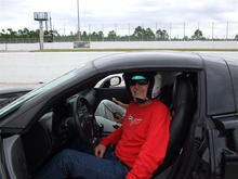 Corvette driving school (Hooked on Driving) at Palm Beach International Raceway.