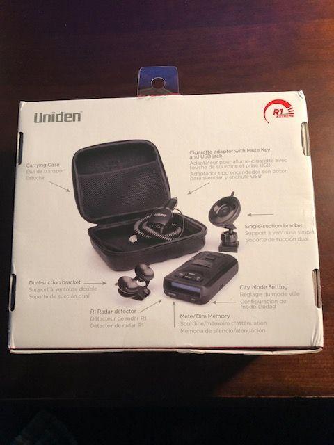 FS (For Sale) Uniden R1 radar detector, BNIB - CorvetteForum