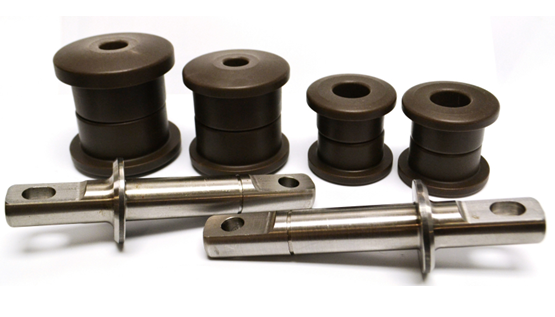Delrin Bushing System for C5 and C6 Corvettes From Ridetech