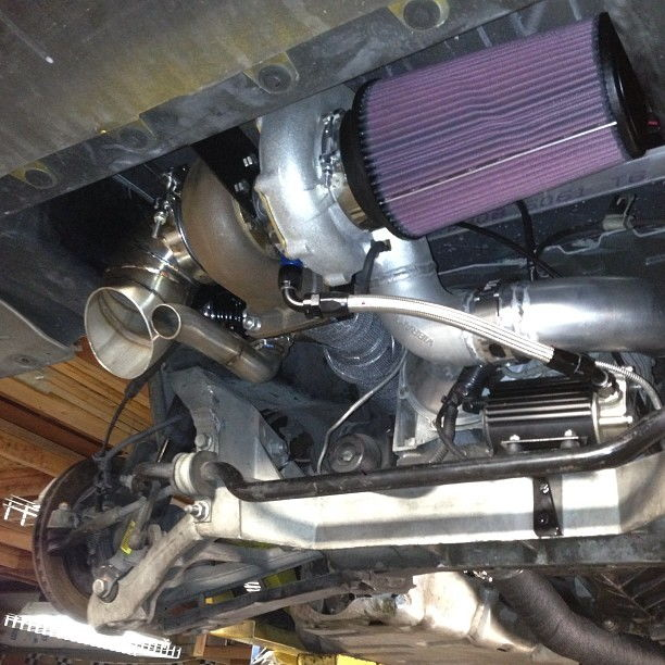 Precision Turbo For Ls1: New Build. 5.3 Rear Mount C5z06