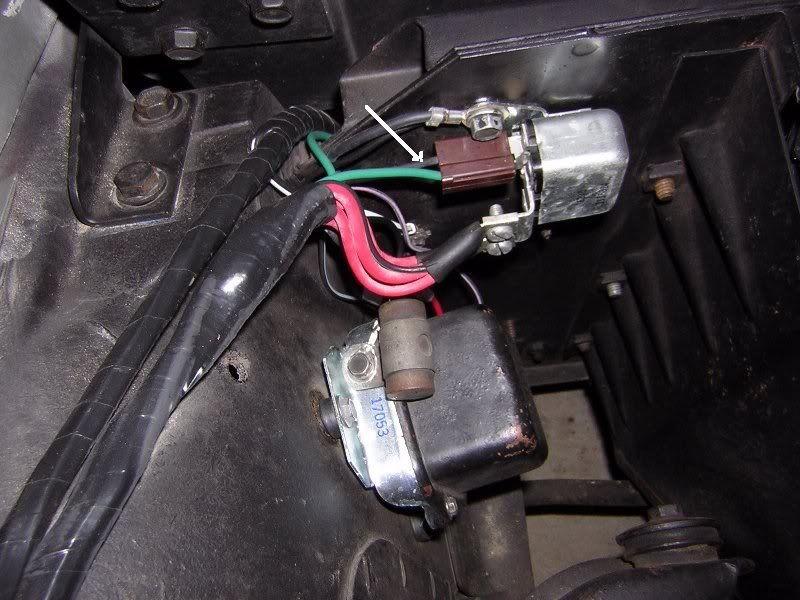 Corvette Horn Relay Wiring