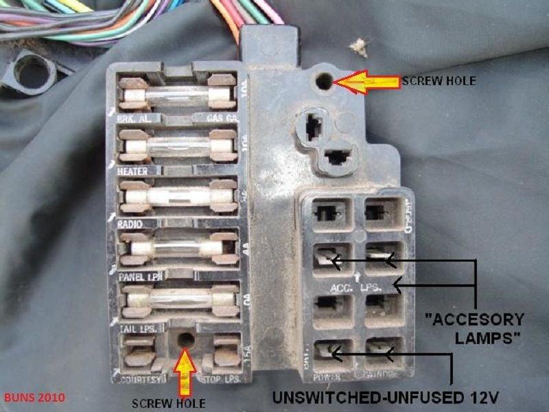 .no power to fuse box(again) - CorvetteForum - Chevrolet ...