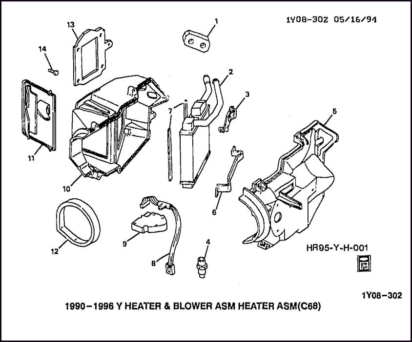 u0026 39 94 hvac air box question - corvetteforum