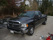 2003 RAM 3500 Stainless Rocker Panels