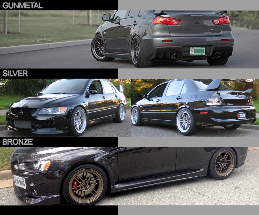 "Enkei RPF1 Wheels: 18x9.5"" & 18x10.5"" - Gunmetal, Bronze, Black, Silver…IN STOCK! - EvolutionM ..."