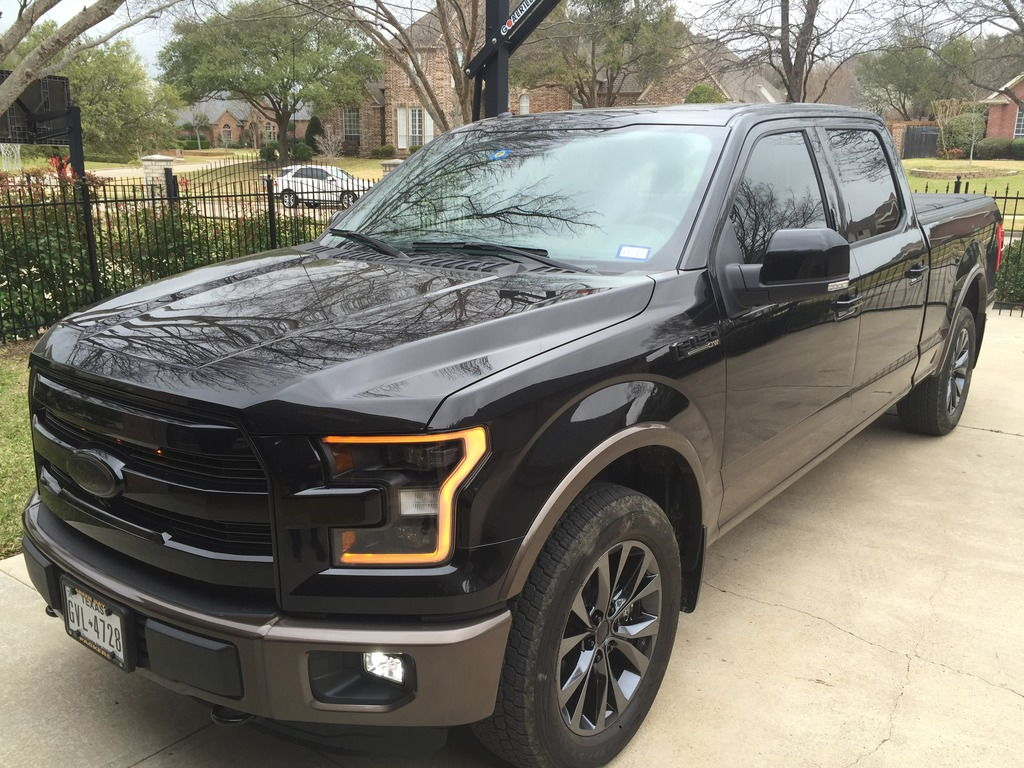 Part Number Request 2016 Black Headlights Ford F150