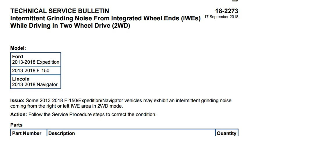 Grinding noise when accelerating - Page 6 - Ford F150 Forum